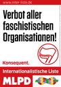 """Erklärung der MLPD München zur Kundgebung am 9.5. am Max-Joseph-Platz München  """"Gegen die infame Lüge von der ´Querfront-Veranstatlung von MLPD und Co'"""""""